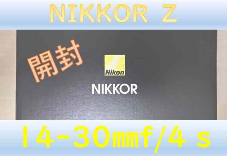 ニコンZ6,Z7用おすすめレンズ「NIKKOR Z 14-30mm f/4 S」 最速レビュー!